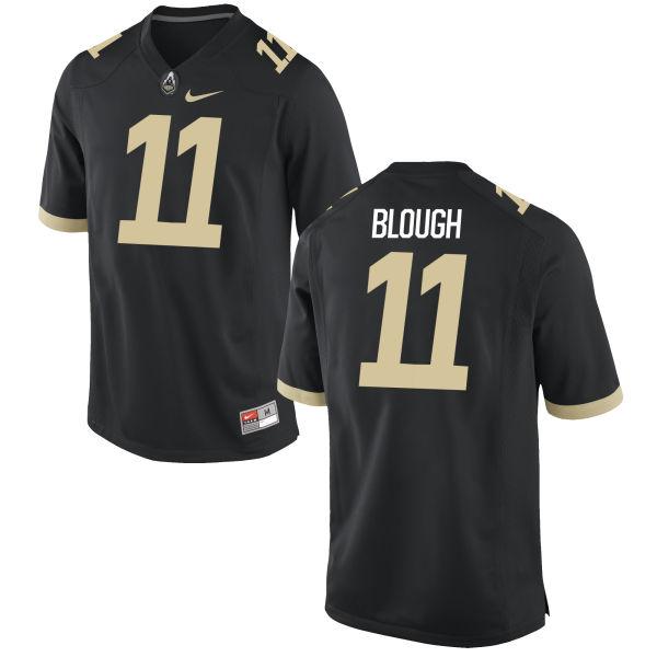 Men's Nike David Blough Purdue Boilermakers Authentic Black Football Jersey
